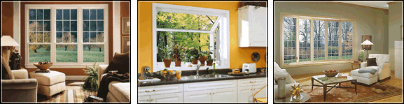We offer a full line of Alside replacement windows